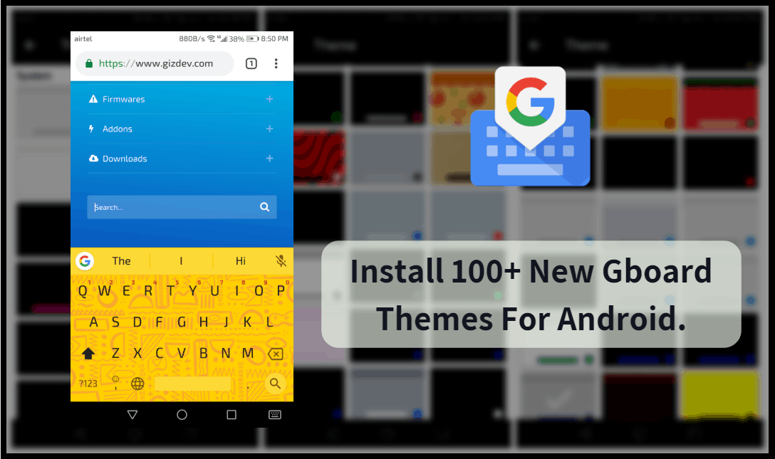 Gboard Themes