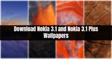 Nokia 3.1 and Nokia 3.1 Plus Wallpapers
