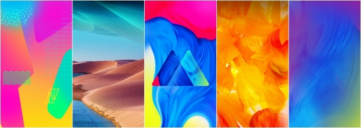 Samsung Galaxy M10 Stock Wallpapers