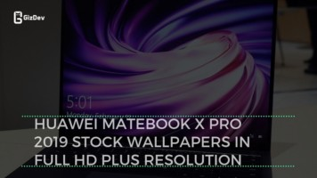 Huawei MateBook X Pro 2019 Stock Wallpapers In Full HD Plus Resolution