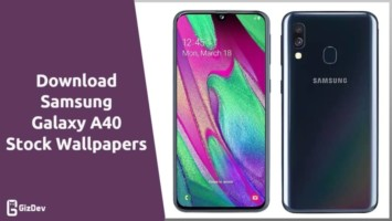 Samsung Galaxy A40 Stock Wallpapers