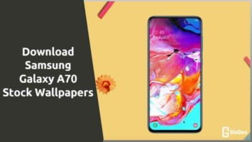 Samsung Galaxy A70 Stock Wallpapers