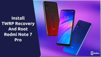 TWRP Recovery And Root Redmi Note 7 Pro
