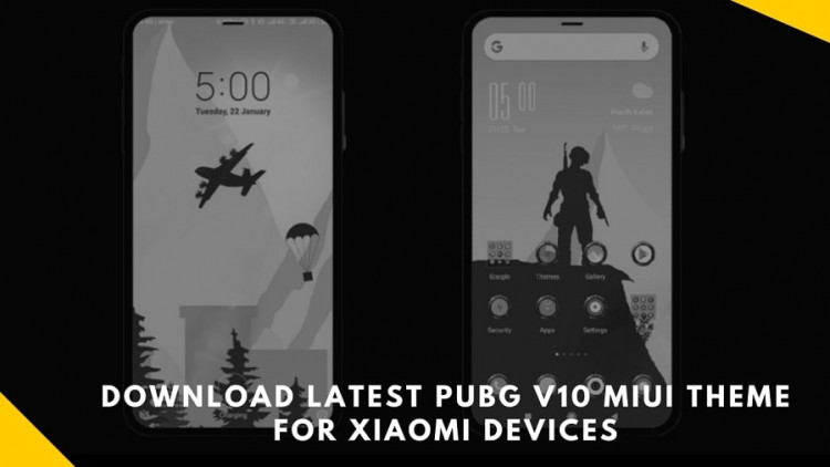 Download Latest PubG V10 MIUI Theme For Xiaomi Devices