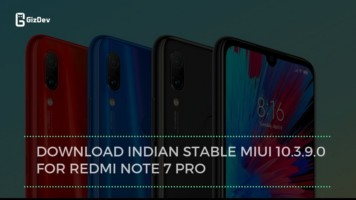 Download Indian Stable MIUI 10.3.9.0 For Redmi Note 7 Pro