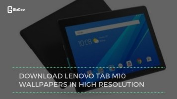 Download Lenovo Tab M10 Wallpapers In High Resolution