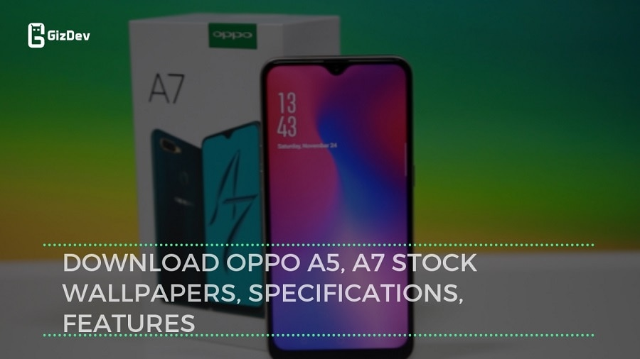 Download OPPO A7 Stock Wallpapers In High Resolution