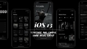 How To Schedule, Enable Dark Mode In iOS 13 Easily