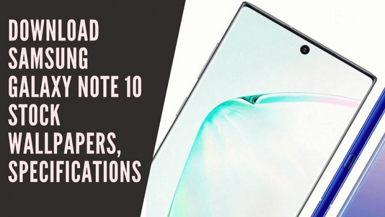 Samsung Galaxy Note 10 Stock Wallpapers, Galaxy Note 10 Wallpapers