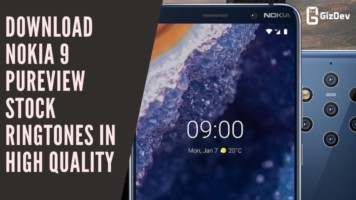 Download Nokia 9 PureView Stock Ringtones In High Quality