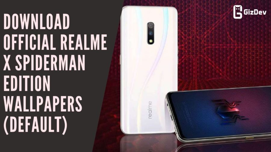 Download Official Realme X Spiderman Edition Wallpapers (Default)