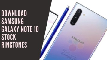 Download Samsung Galaxy Note 10 Stock Ringtones