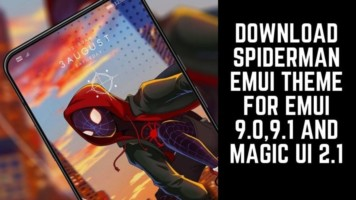 Download Spiderman EMUI Theme For EMUI 9.0,9.1 And Magic UI 2.1