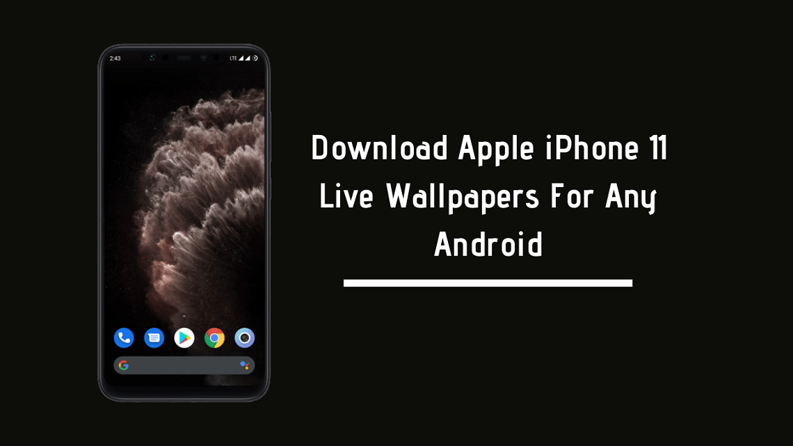 Apple iPhone 11 Live Wallpapers