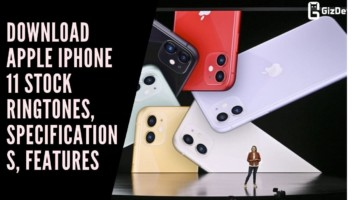 Download Apple iPhone 11 Stock Ringtones, Specifications, Features