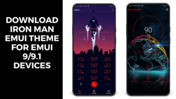 Download Iron Man EMUI Theme For EMUI 99.1 Devices