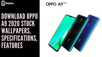 Download OPPO A9 2020 Stock Wallpapers, Specifications, Features