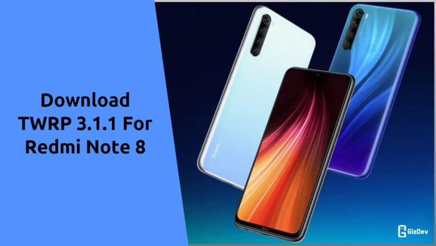 TWRP Recovery 3.3.1 For Redmi Note 8