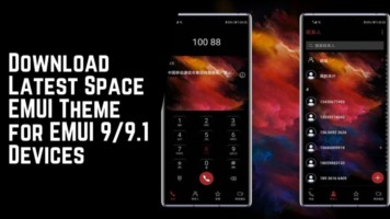Download Latest Space EMUI Theme for EMUI 99.1 Devices