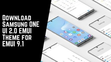 Download Samsung ONE UI 2.0 EMUI Theme for EMUI 9.1
