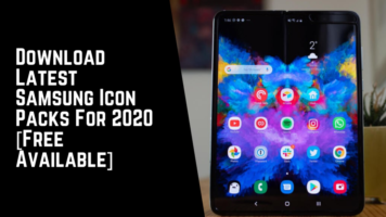 Download Latest Samsung Icon Packs For 2020 [Free Available]
