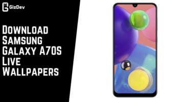 Download Samsung Galaxy A70S Live Wallpapers