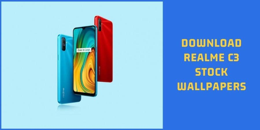Realme C3 Stock Wallpapers