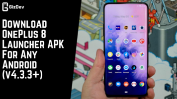 Download OnePlus 8 Launcher APK For Any Android (v4.3.3+)