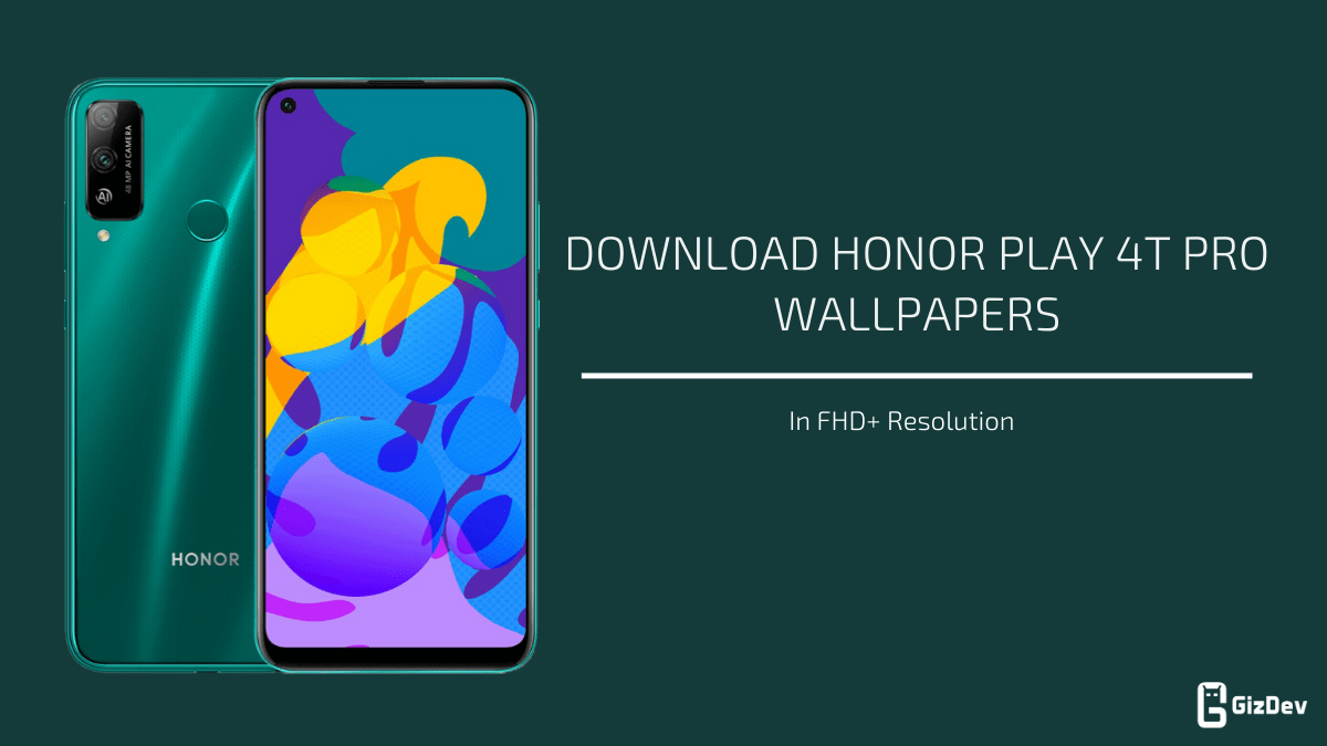 Honor Play 4T Pro Stock Wallpapers