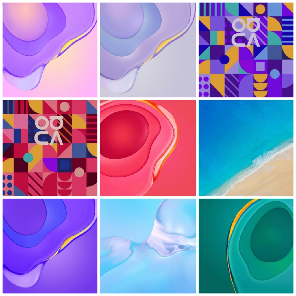 Huawei Nova 7 (Pro) Wallpapers