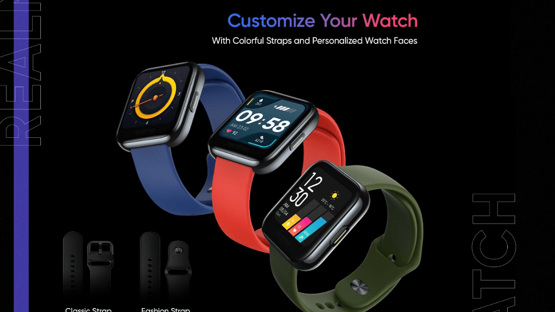 Realme Watch Launch On May 25, Some Features Revealed