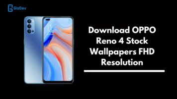 OPPO Reno 4 Stock Wallpapers