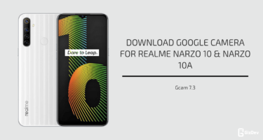Google Camera 7.3 For Realme Narzo 10 & Narzo 10A