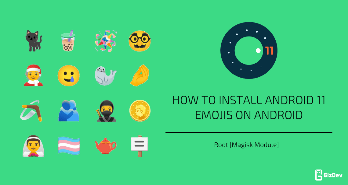 Install Android 11 Emojis On Android