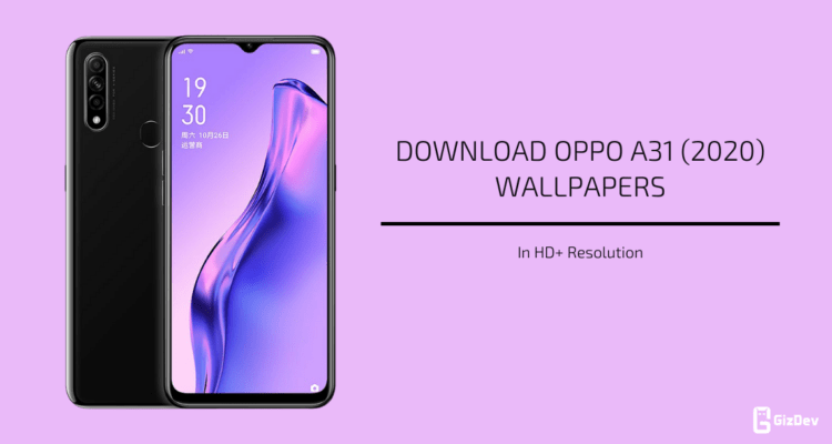 Oppo A31 (2020) Stock Wallpapers