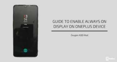 Enable Always On Display On OnePlus Device