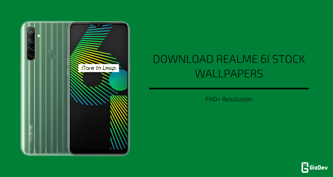 Realme 6i Stock Wallpapers