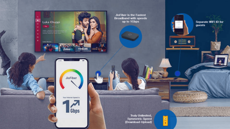 Jio Fiber At 399, Unlimited Data, and Calls, New plans and 30 Day Trial Announced