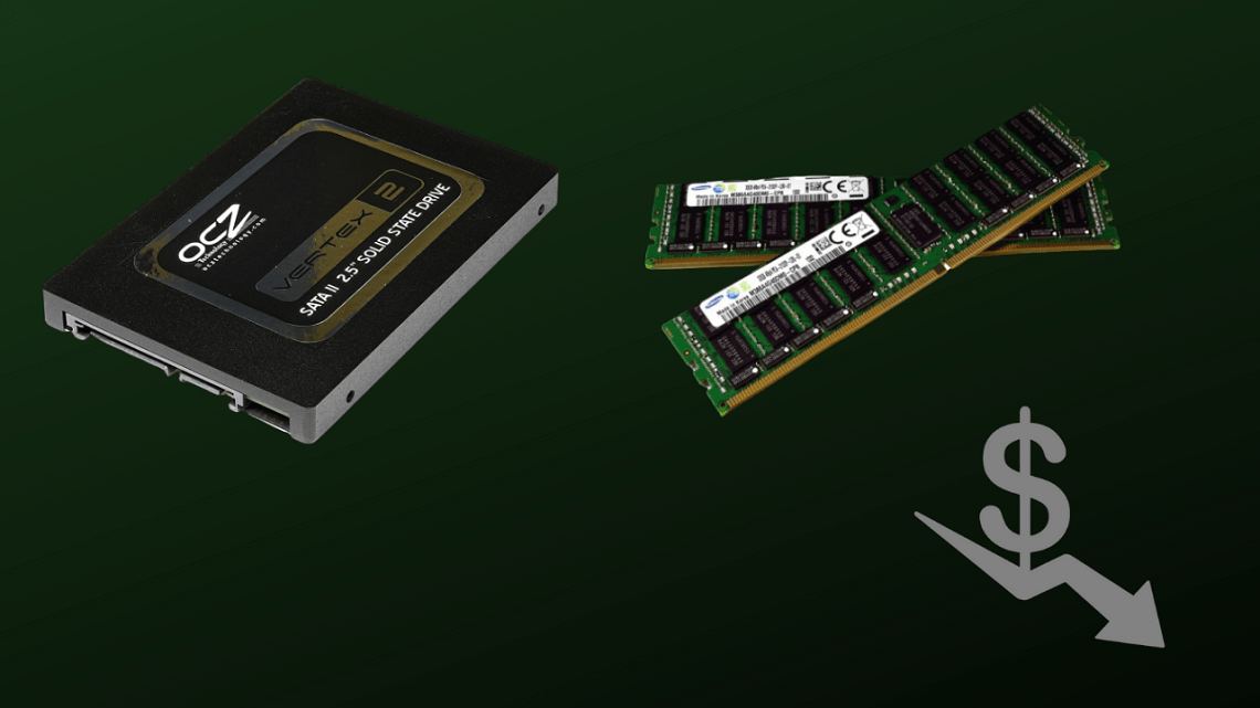 RAM and SSDs Prices Soon To Go Down, Oversupply And Low Demand