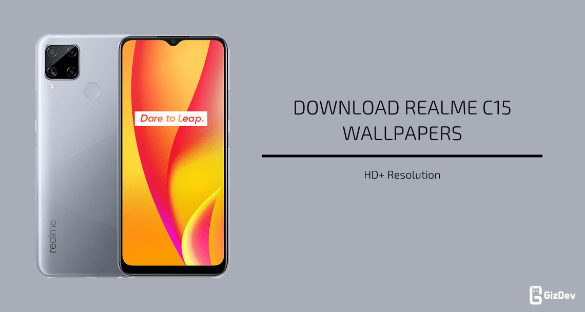 Realme C15 Stock Wallpapers