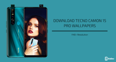 Tecno Camon 15 (Pro) Stock Wallpapers