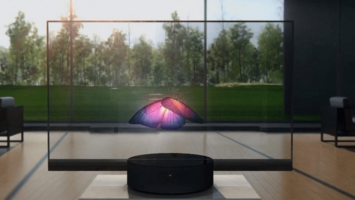 Xiaomi Released the World's First Transparent TV at 00