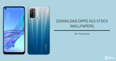 Oppo A53 Stock Wallpapers