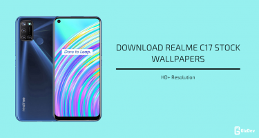 Realme C17 Stock Wallpapers