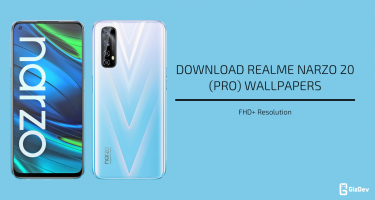 Realme Narzo 20 (Pro) Stock Wallpapers