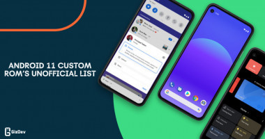Download Android 11 Custom Rom