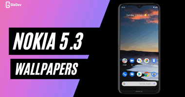 Download Nokia 5.3 Stock Wallpapers FHD Resolution
