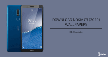 Nokia C3 (2020) Stock Wallpapers