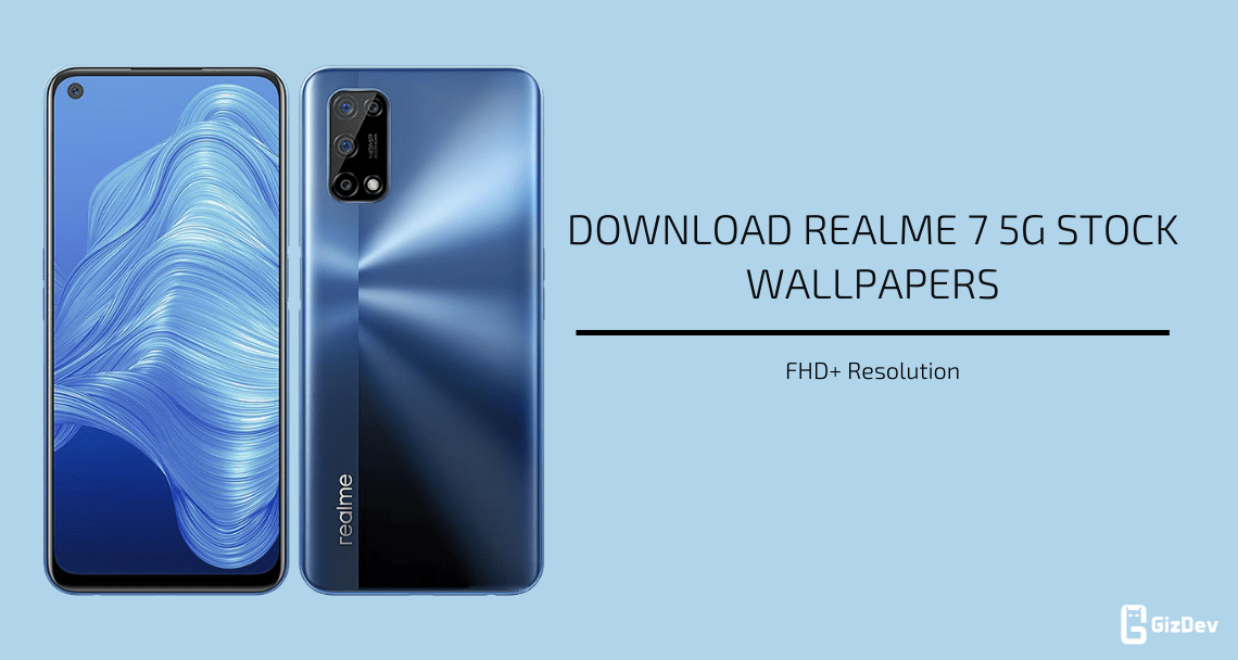 Realme 7 5G Stock Wallpapers