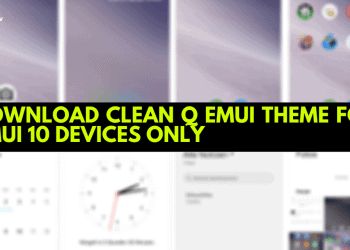 Download Clean Q EMUI Theme For EMUI 10 Devices Only